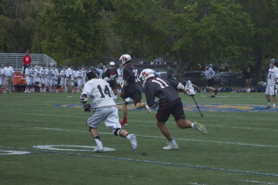 Boys' lacrosse falls to Marin Catholic in MCAL championship
