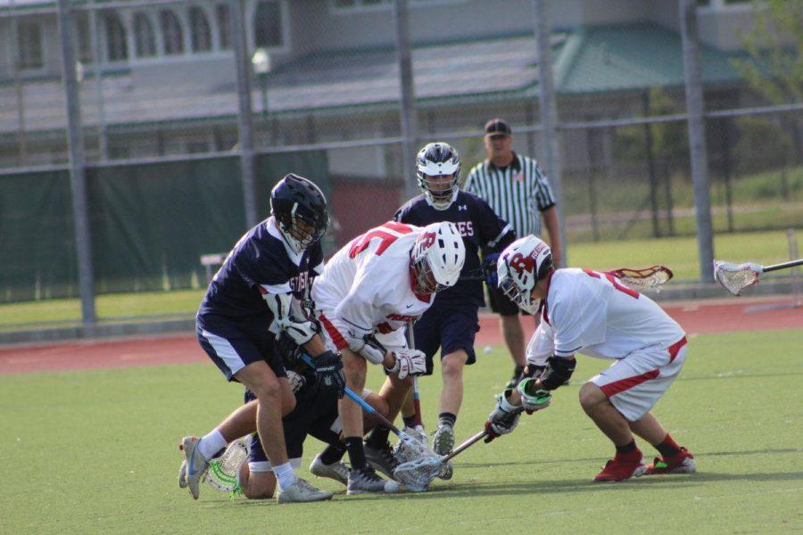 Boys' Lacrosse advances in dominant win over Justin-Siena