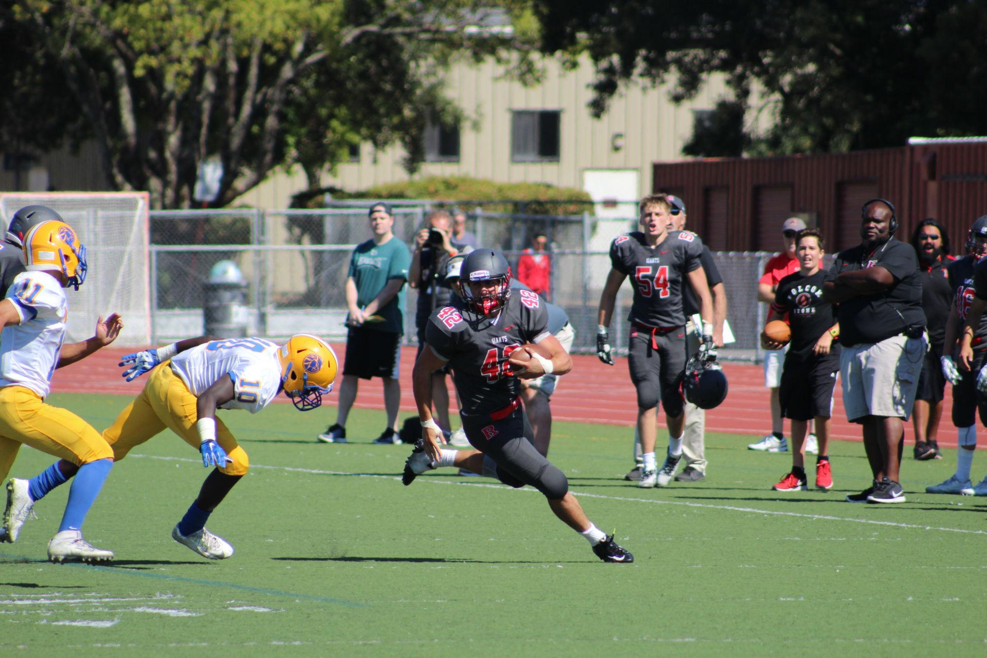 Redwood opens season with win over Mt. Eden behind Calzaretta's big day
