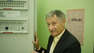 Dr. Leonard Kleinrock in LO AND BEHOLD, a Magnolia Pictures release.