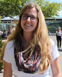 English teacher Danielle Kestenbaum hopes that her students become critical thinkers and don't take anything at face value.