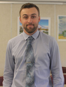 Social studies teacher Taber Watson is a Redwood alumnus who played baseball during high school and college.