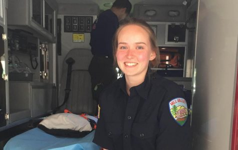Senior fires up career interests with Mill Valley Fire Department