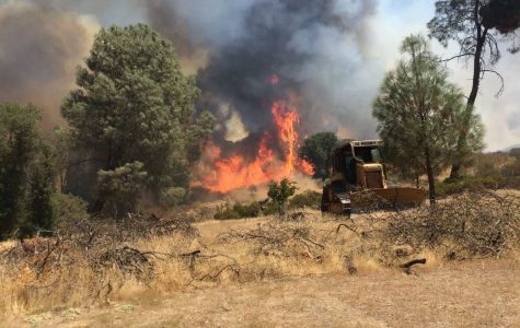 Clayton fire rages, parent firefighter called to duty