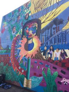 EL EXTERIOR DE la Canal de Alianza, una organización que ayuda a los inmigrantes que viven en Marin.