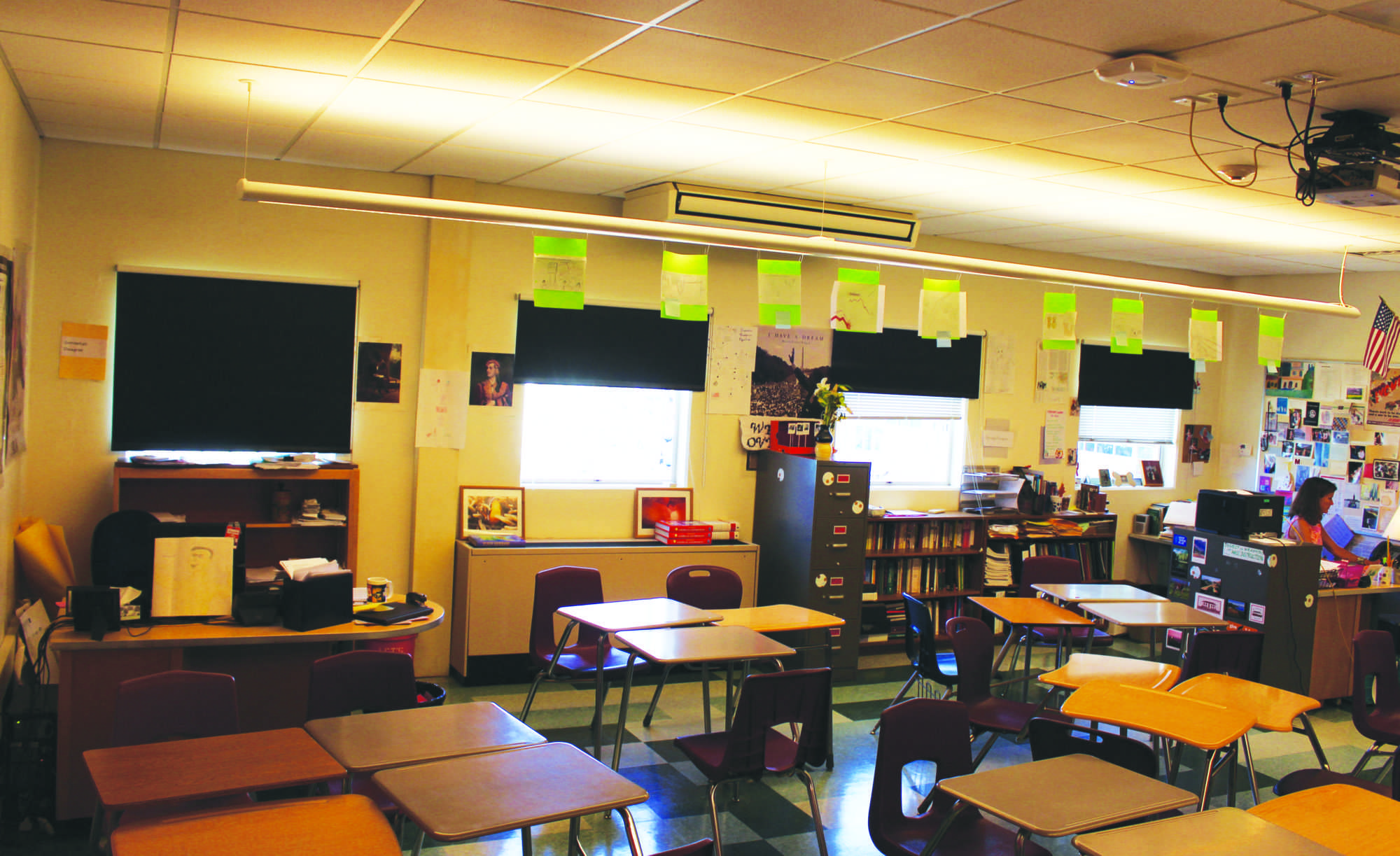 Increased classroom sharing has its pros and cons