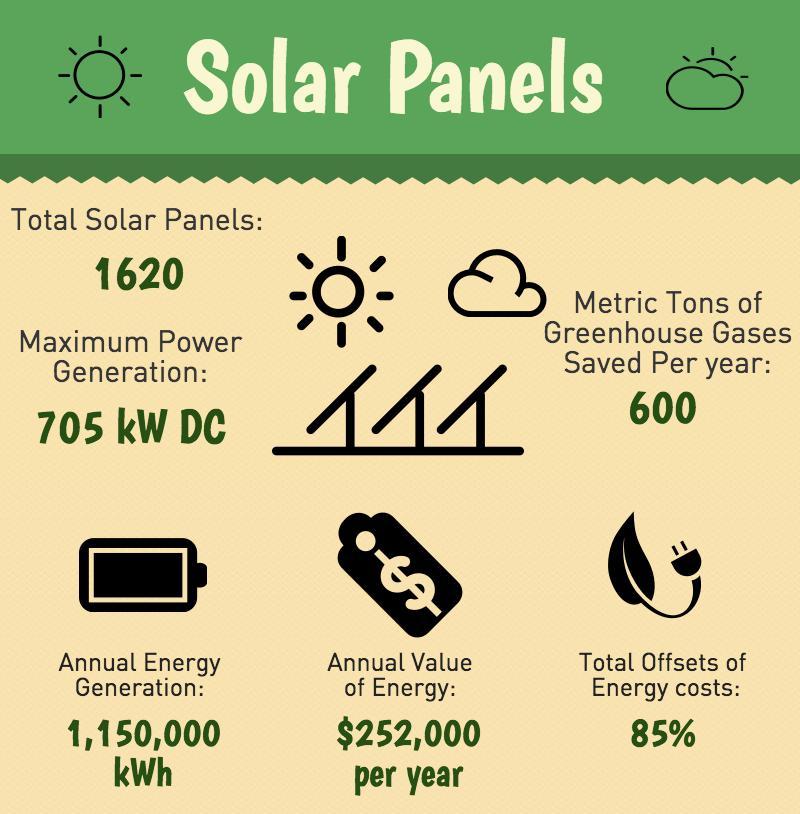 Solar panels shine with large monetary and energy savings