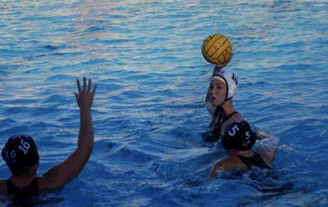 Girls' varsity water polo falls in tension-filled battle against Novato