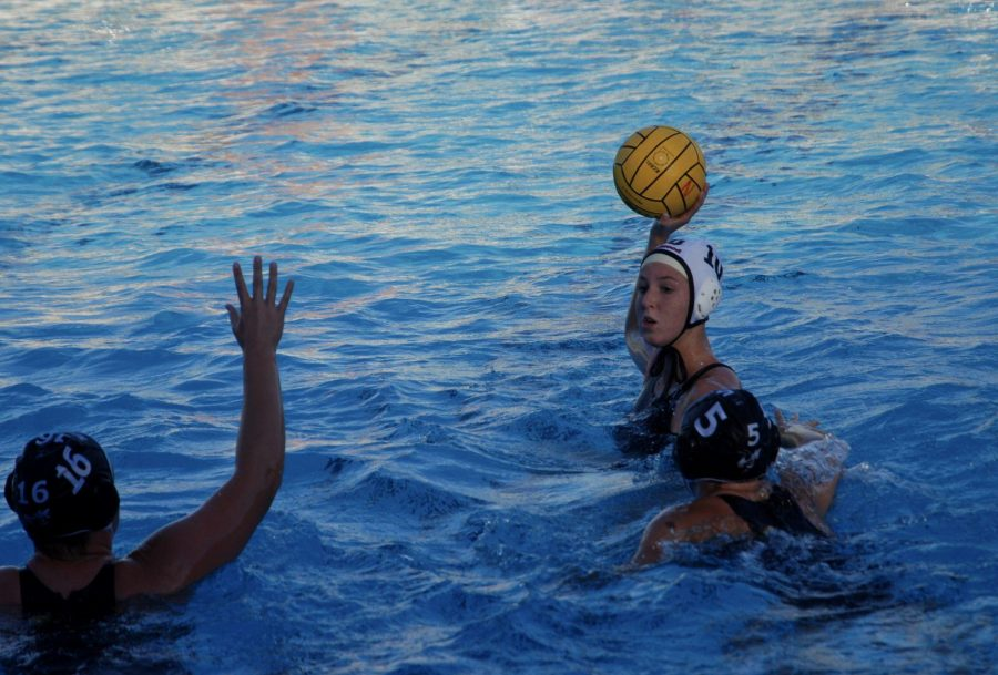 Girls' varsity water polo falls in tension-filled battle against Novato