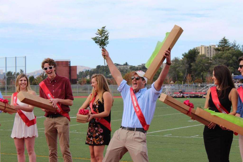Sophie Landeck and Cosmo Taylor crowned Homecoming King and Queen