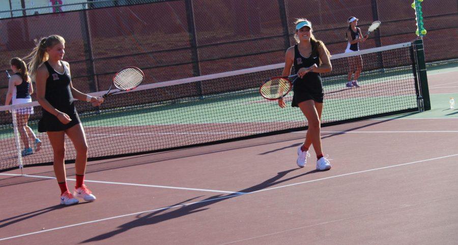 Girls Tennis dominates against MC, maintains status atop MCAL
