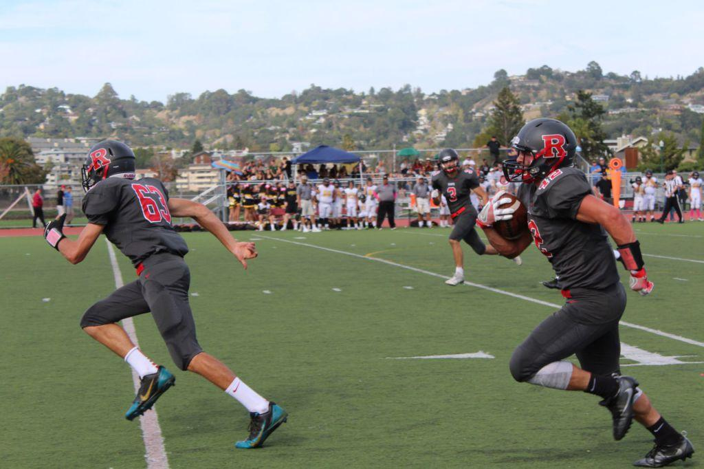 Redwood thrashes Novato, cements place among MCAL elite