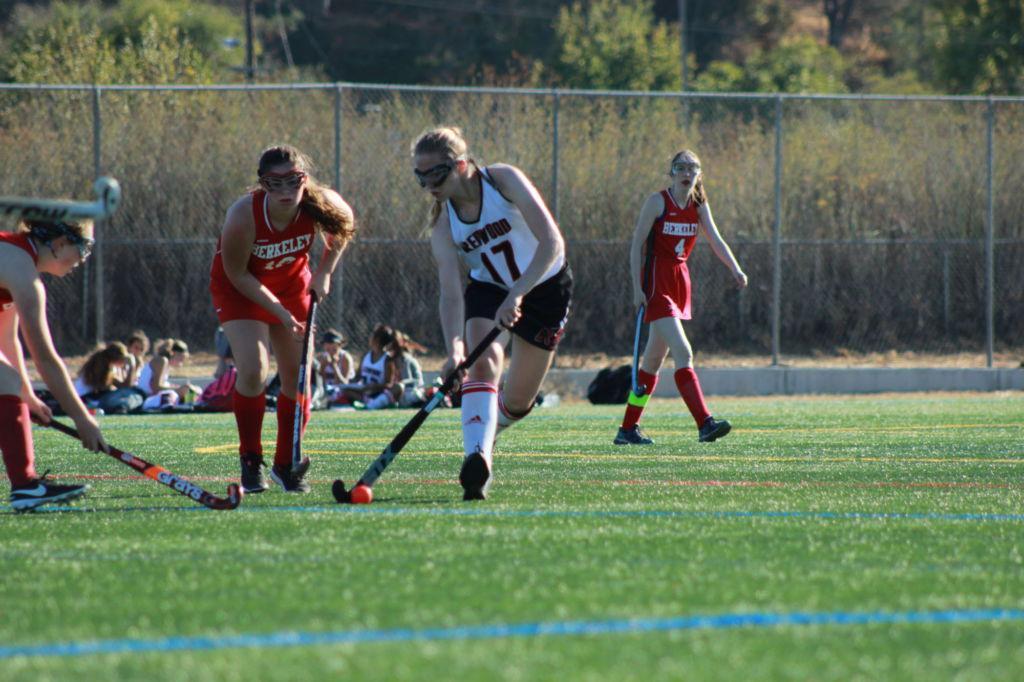 Freshman sticks with hockey through change in terrain