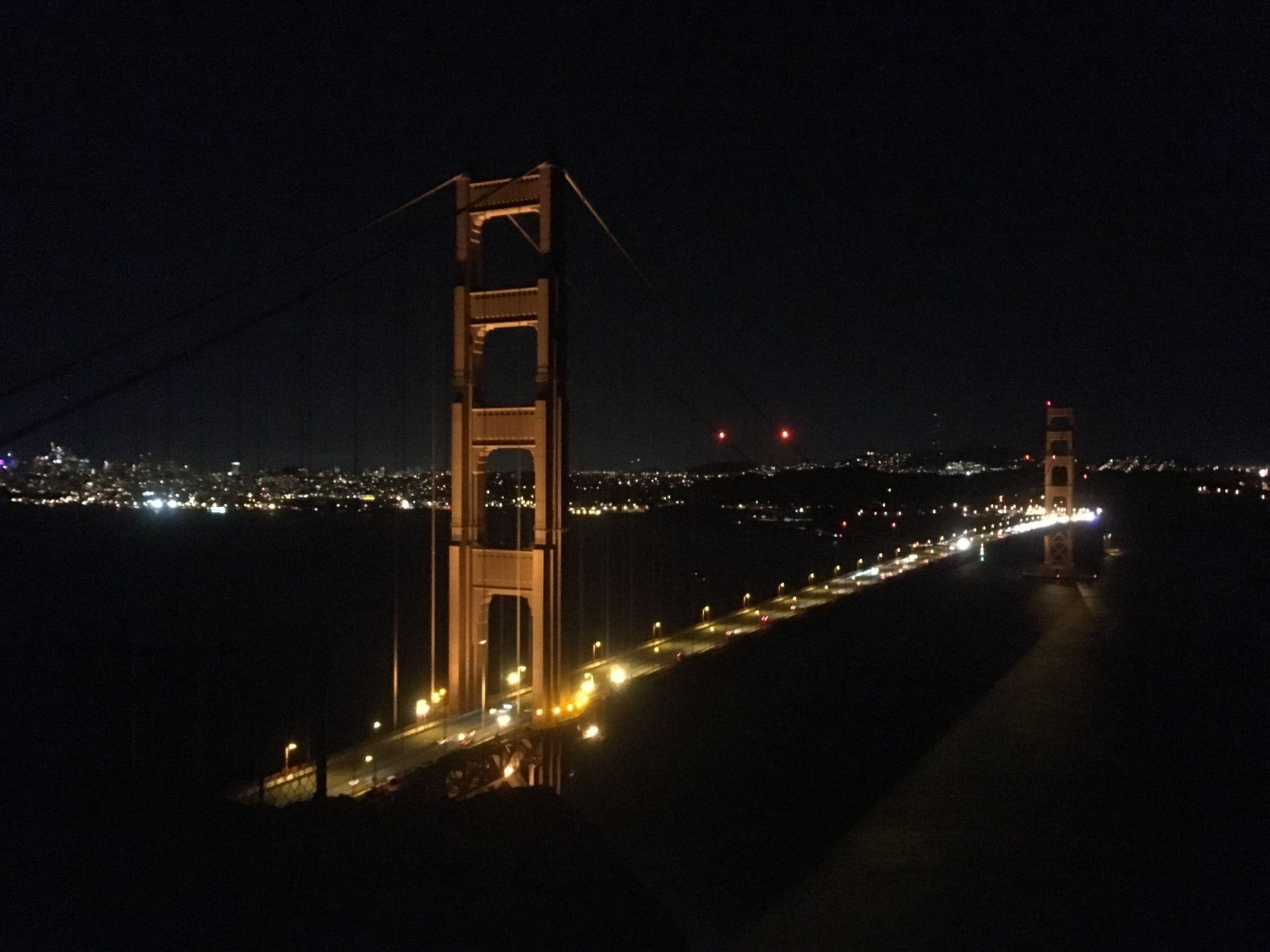 Picture of Golden Gate taken with an iPhone 5se