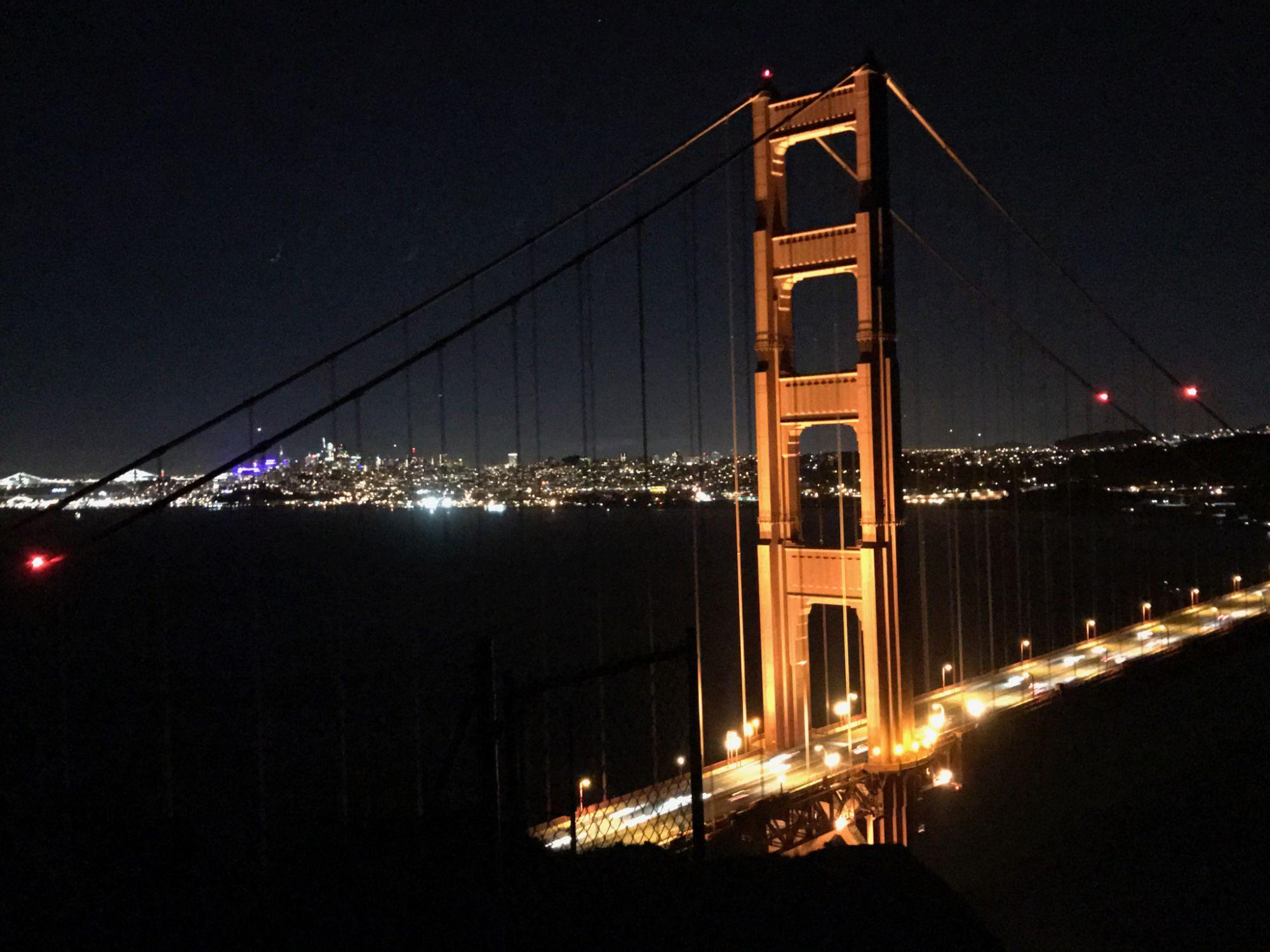 Photo of Golden Gate Bridge taken with iPhone 7