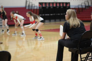Head coach Katie Pease will retire at the end of this season. She has coached Redwood volleyball for 18 years.