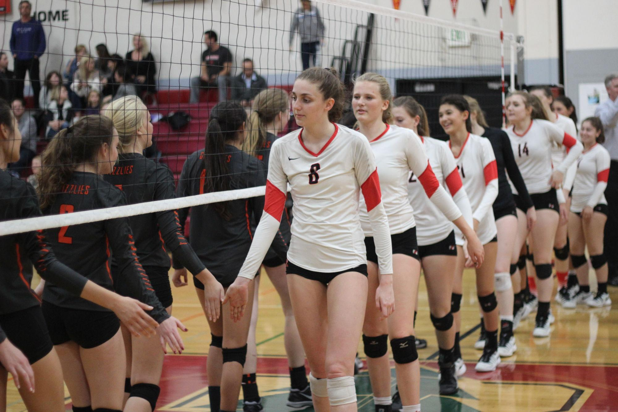 Girls' varsity volleyball sends Grizzlies into hibernation