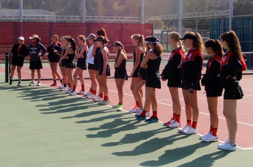 Girls' varsity tennis loses MCAL final to Branson