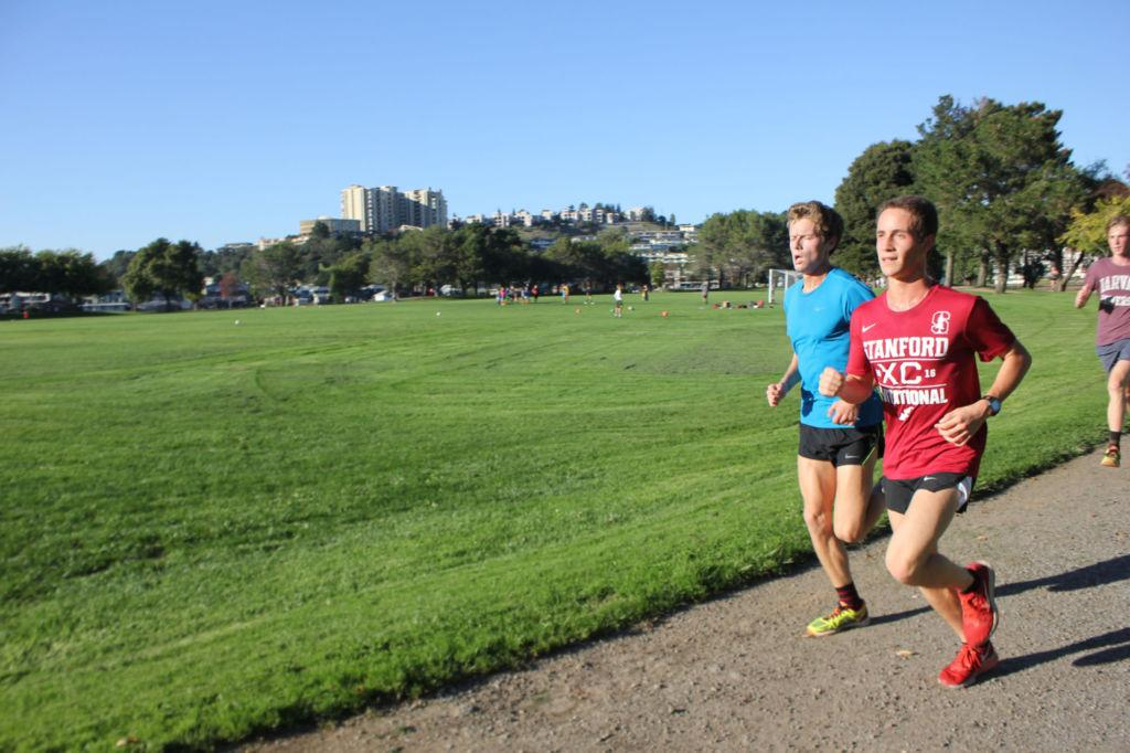 Sophomore and senior race to top two spots in NCS