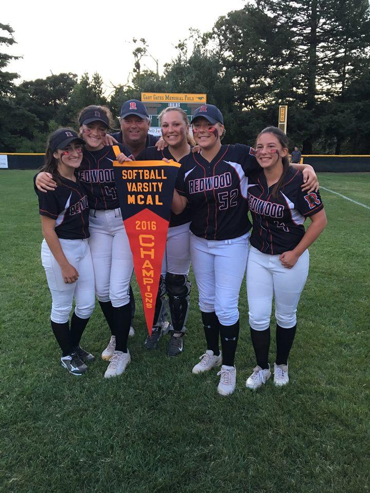 Casassa poses with the sophomore players on the team.