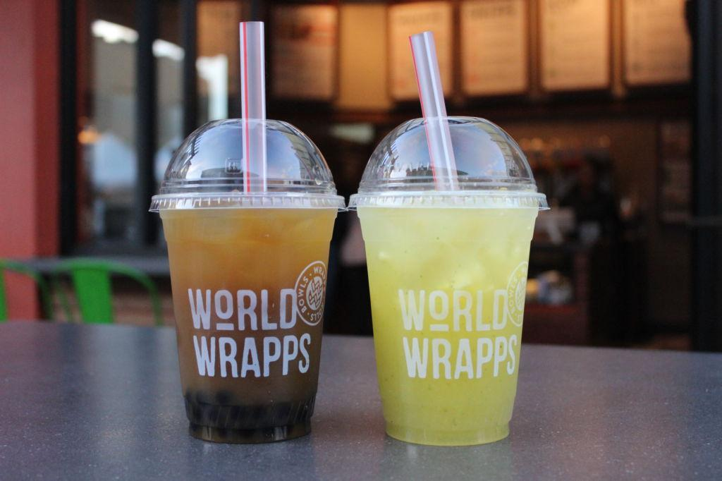 World Wrapps made a variety of changes to their popular Marin location, including a new selection of global beverages.