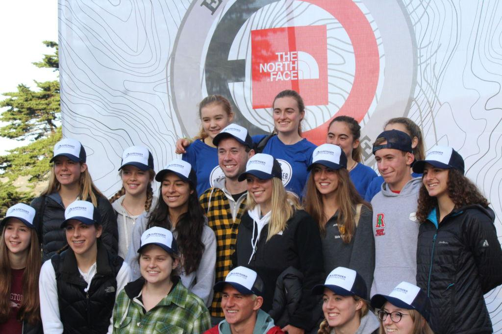 Surfrider club members compete in North Face Endurance Challenge