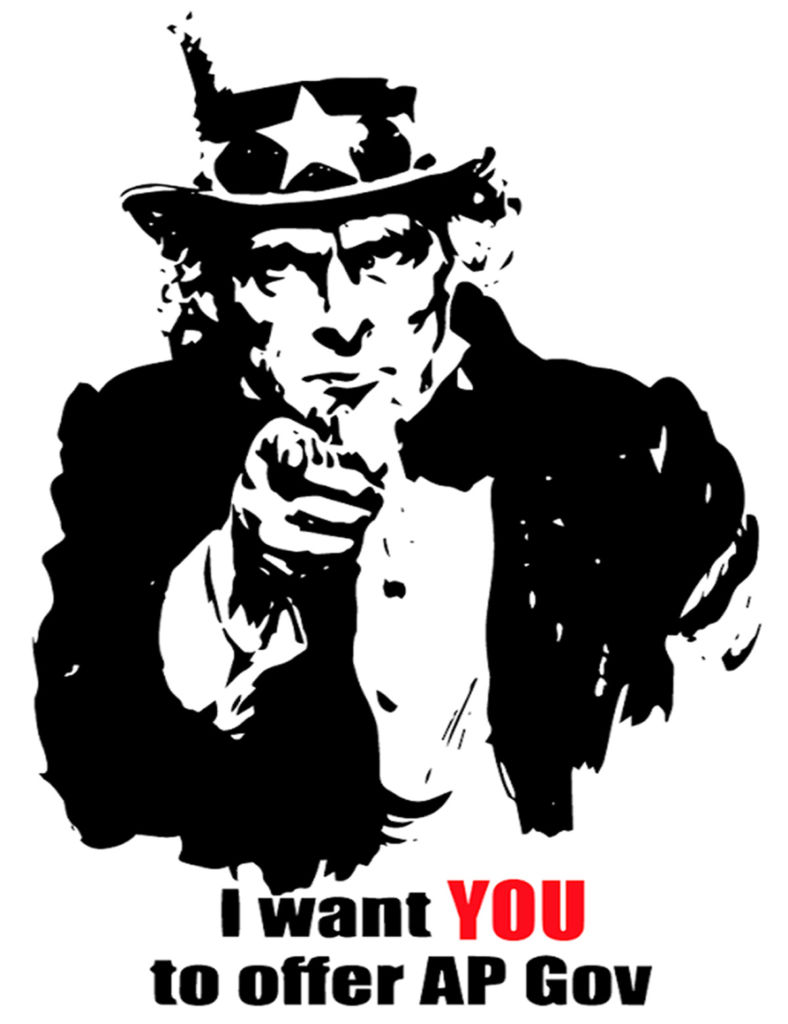 I want YOU to offer AP Gov