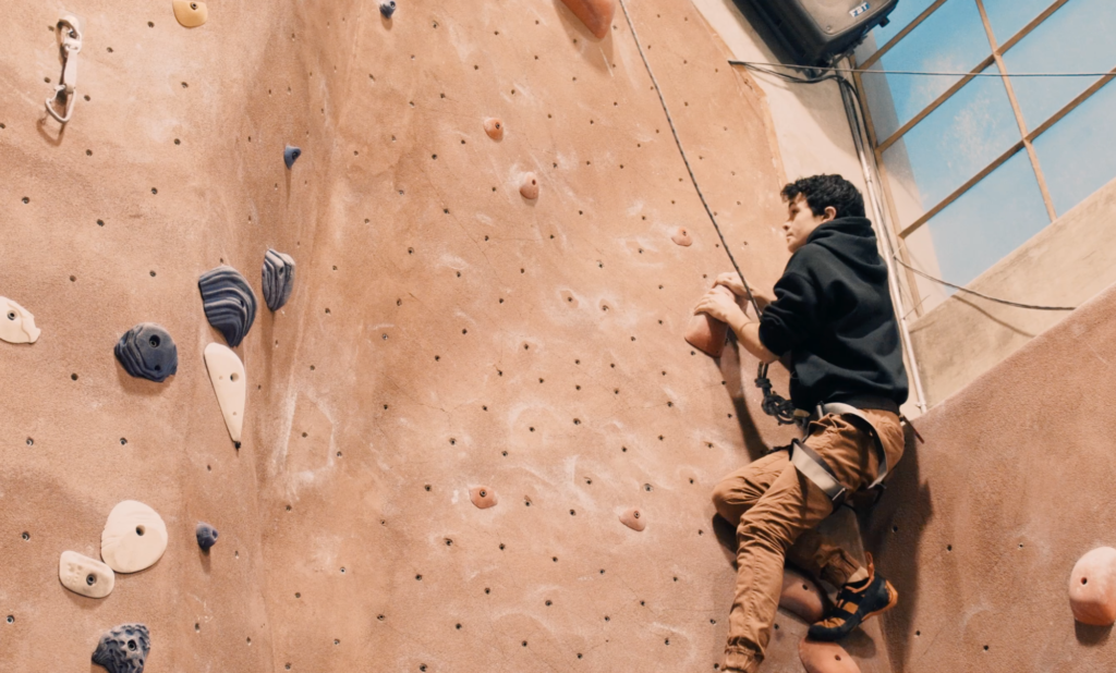 The Niche: Redwood's rock climbing community