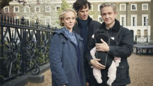 This season, John and Mary Watson welcomed a new member of the family, Rosamund