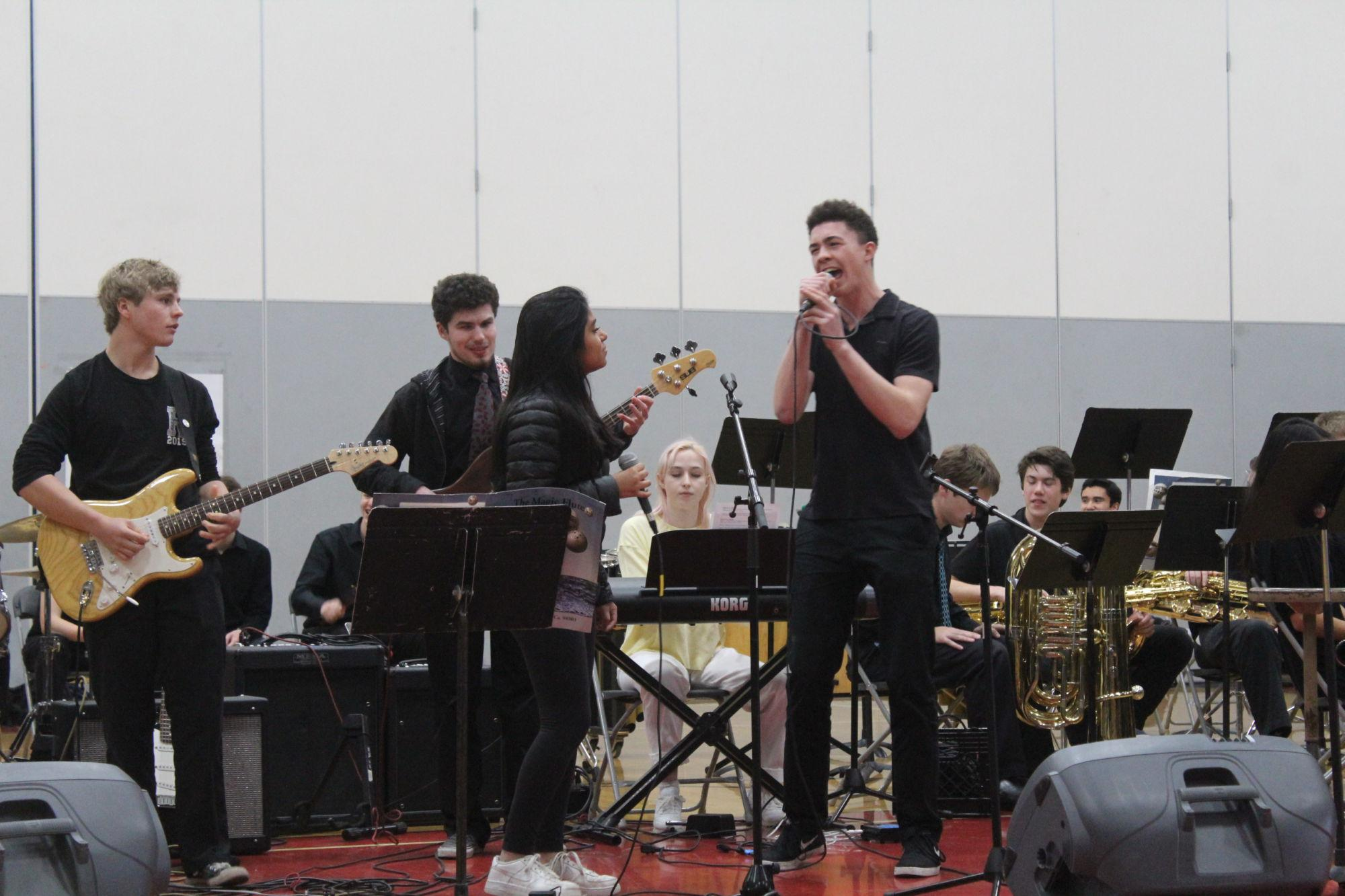 Rocking advisory: bands expose students to a range of music