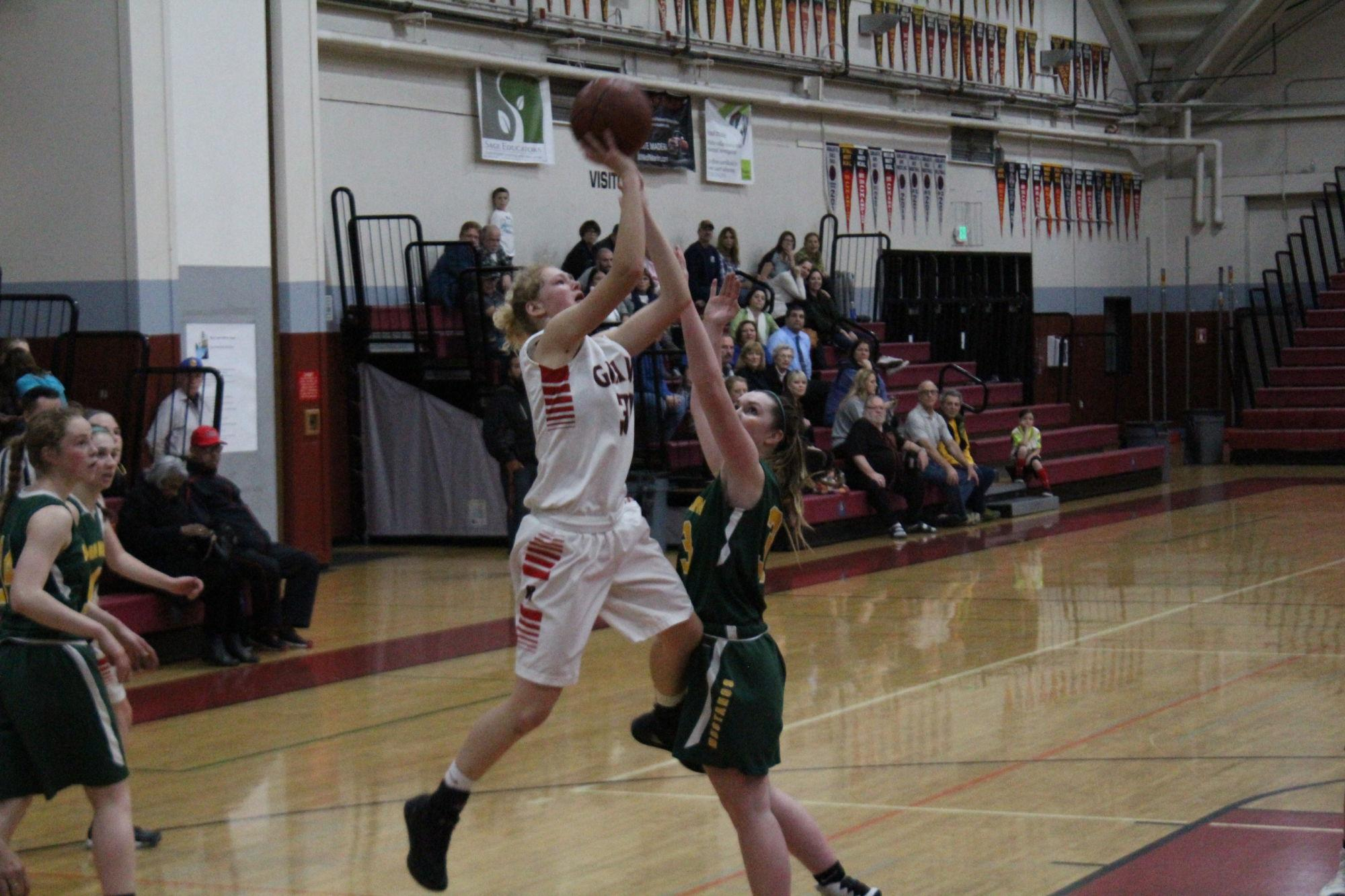 Girls' basketball gallops past Mustangs to MCAL final