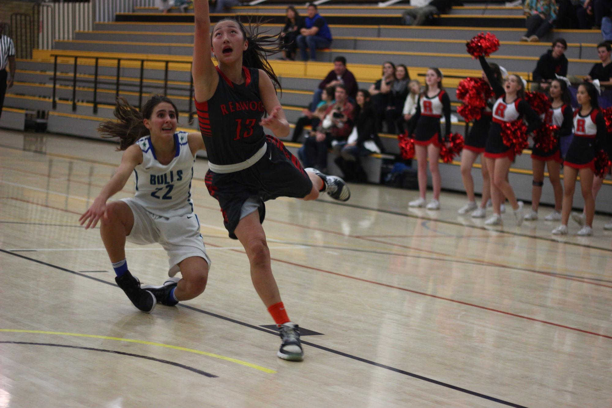 Girls' basketball overpowers Branson with an impressive 66-23 victory