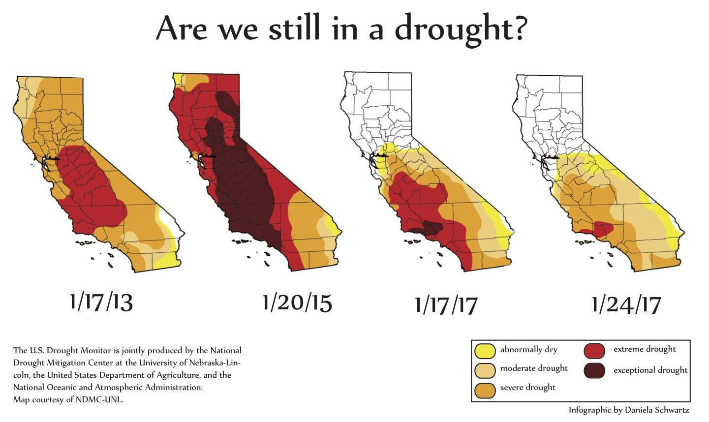 Northern California relieved from five year drought