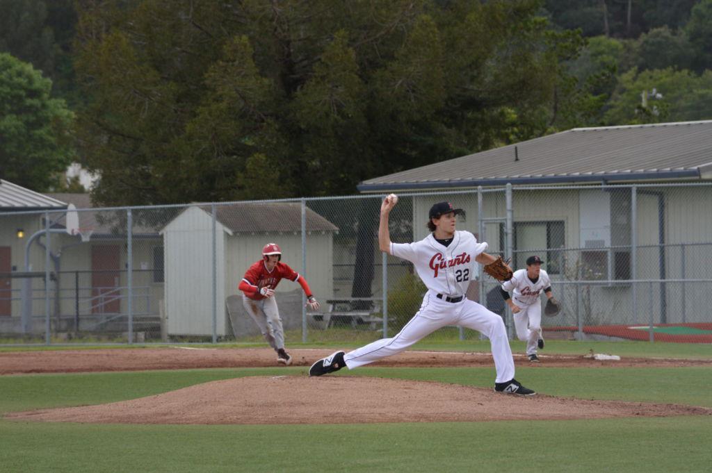 Photo+Gallery%3A+Boys%27+varsity+baseball+shuts+out+San+Rafael