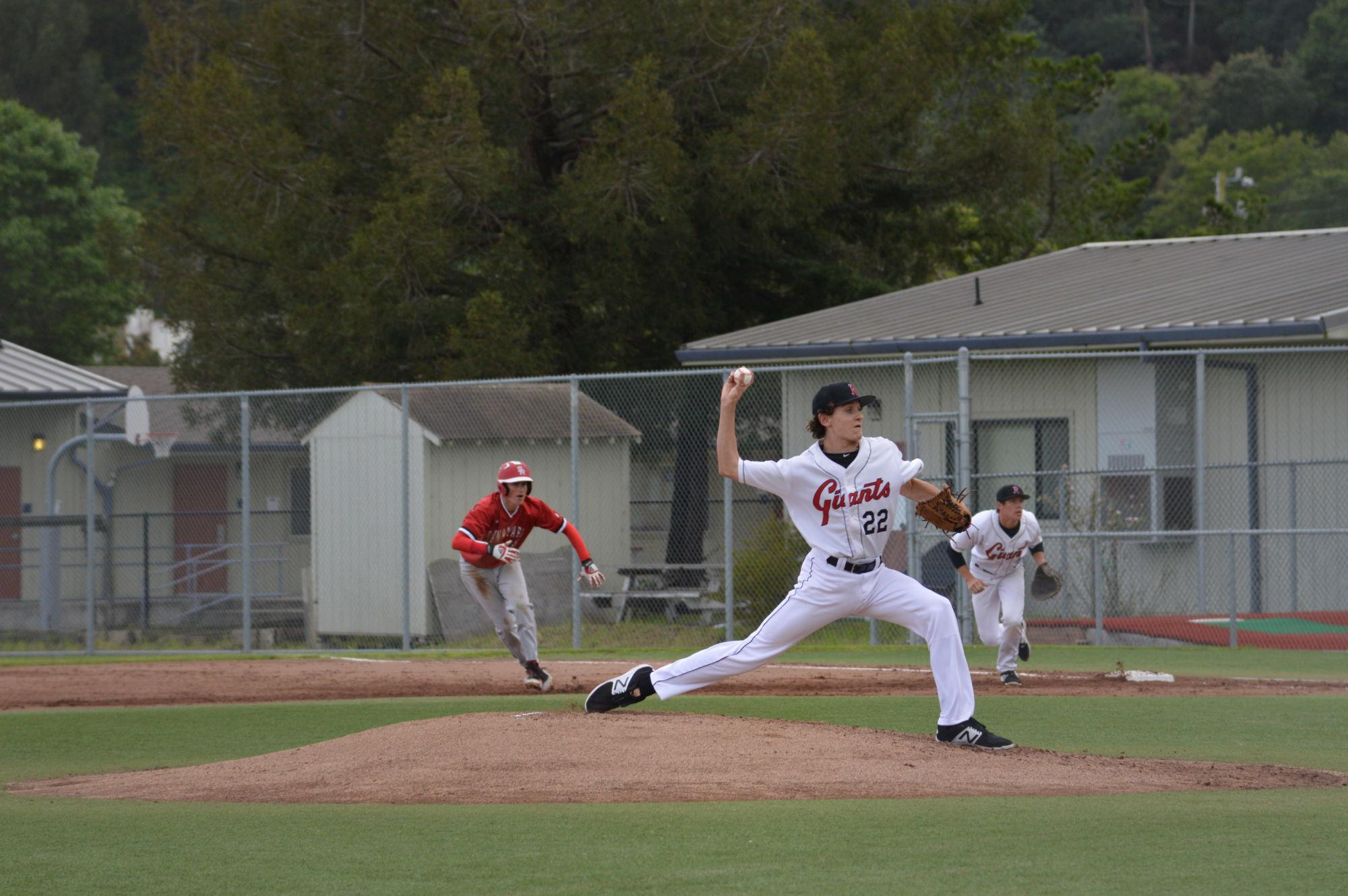 Photo Gallery: Boys' varsity baseball shuts out San Rafael