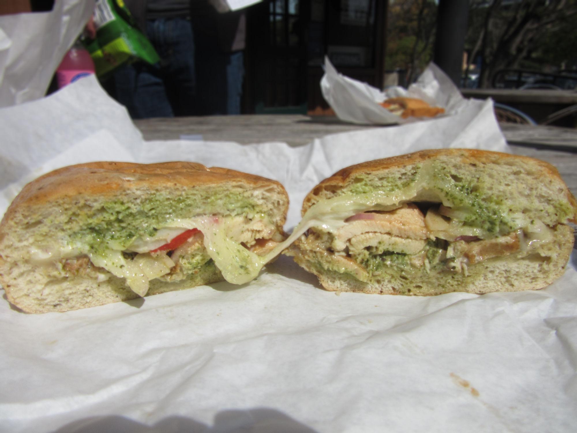 Shelter Bay: A tasty, sheltered sandwich cafe