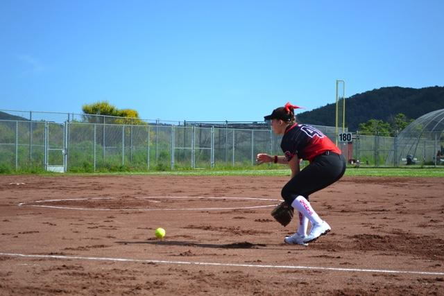 Girls' softball endures their first loss of the season against San Marin