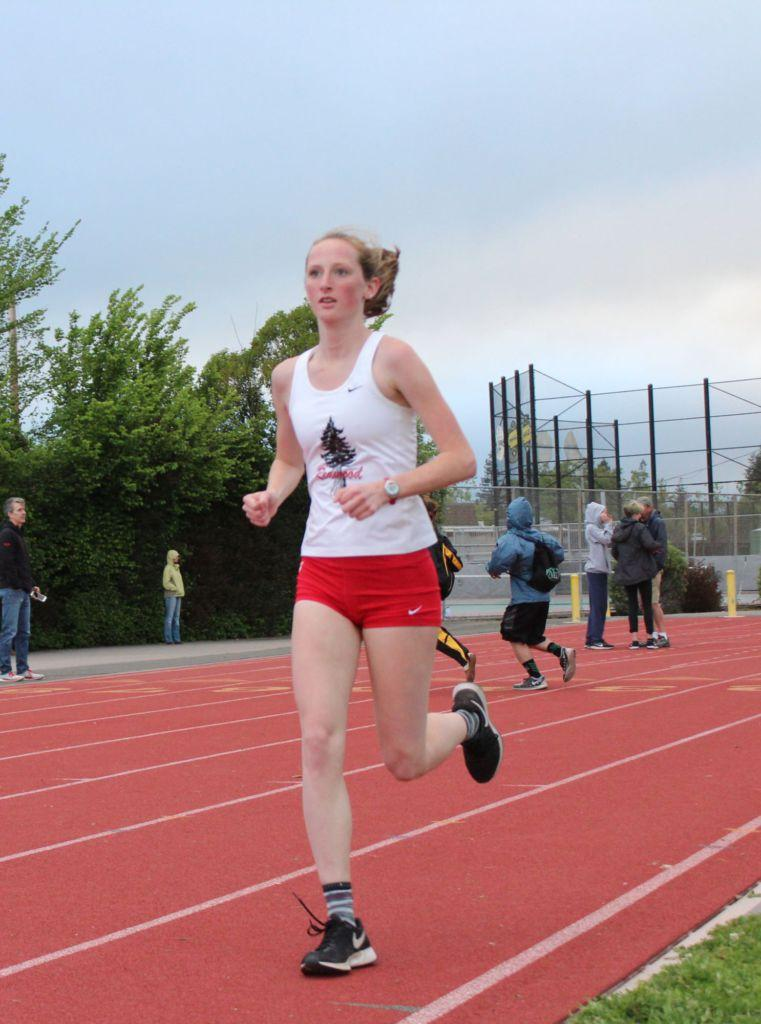 Junior ranked first in the nation for the 3000 meters