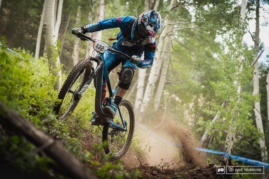 Senior Teddy Hayden rides the trail in style.