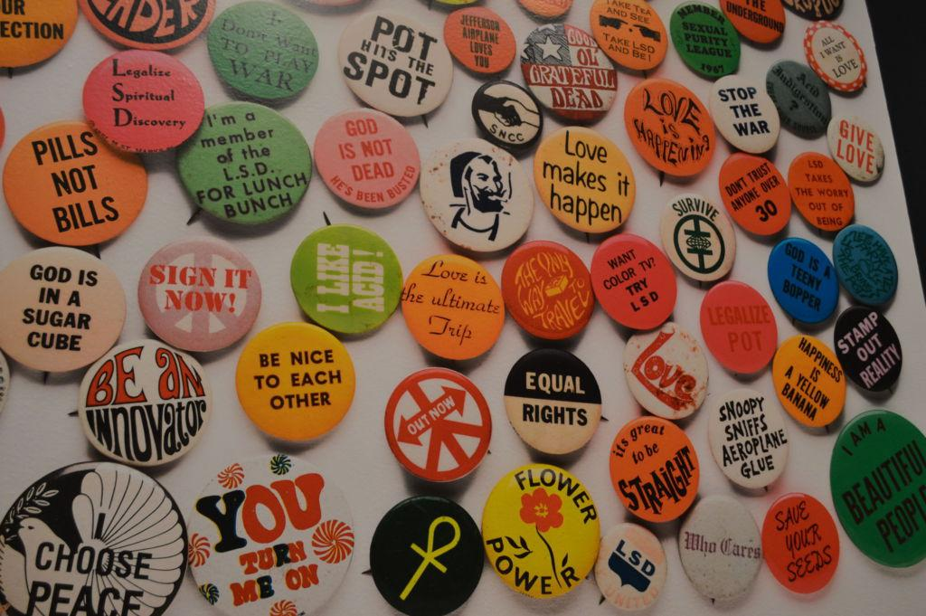 Summer of Love exhibit amuses with vibrant relics