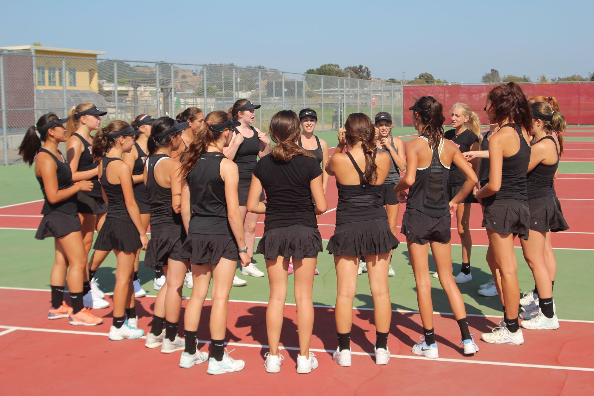 Freshman tennis stars light up the new season