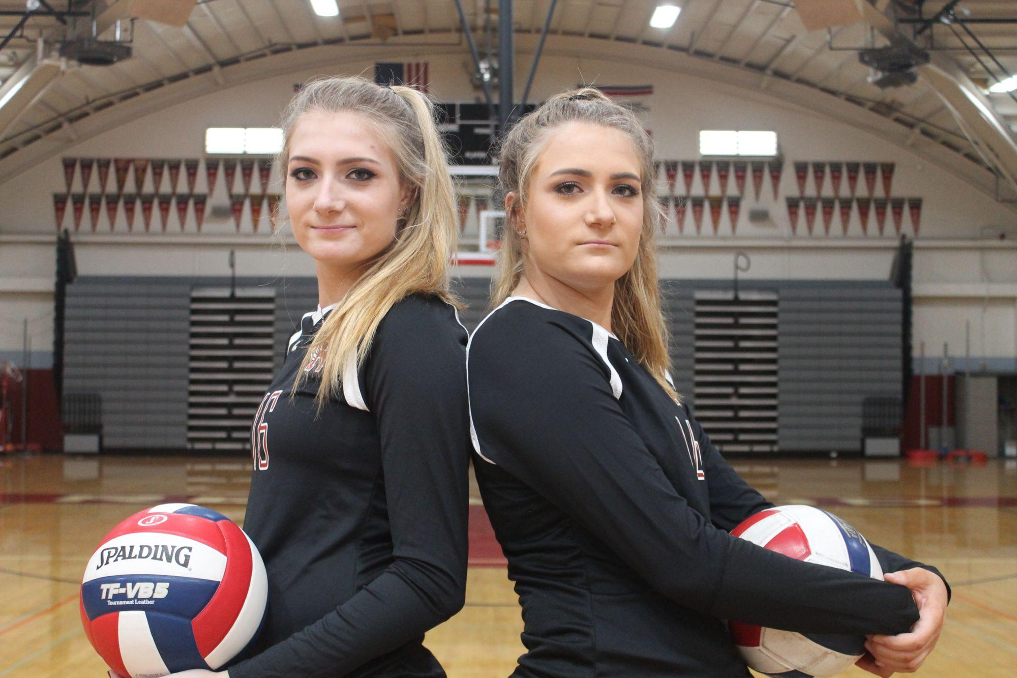 D'Ancona Twins: serving up success for the upcoming season