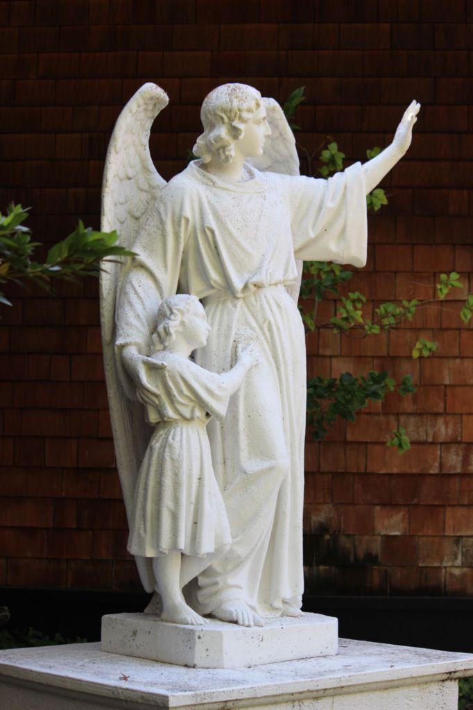 San Domenico religious statues removed from campus