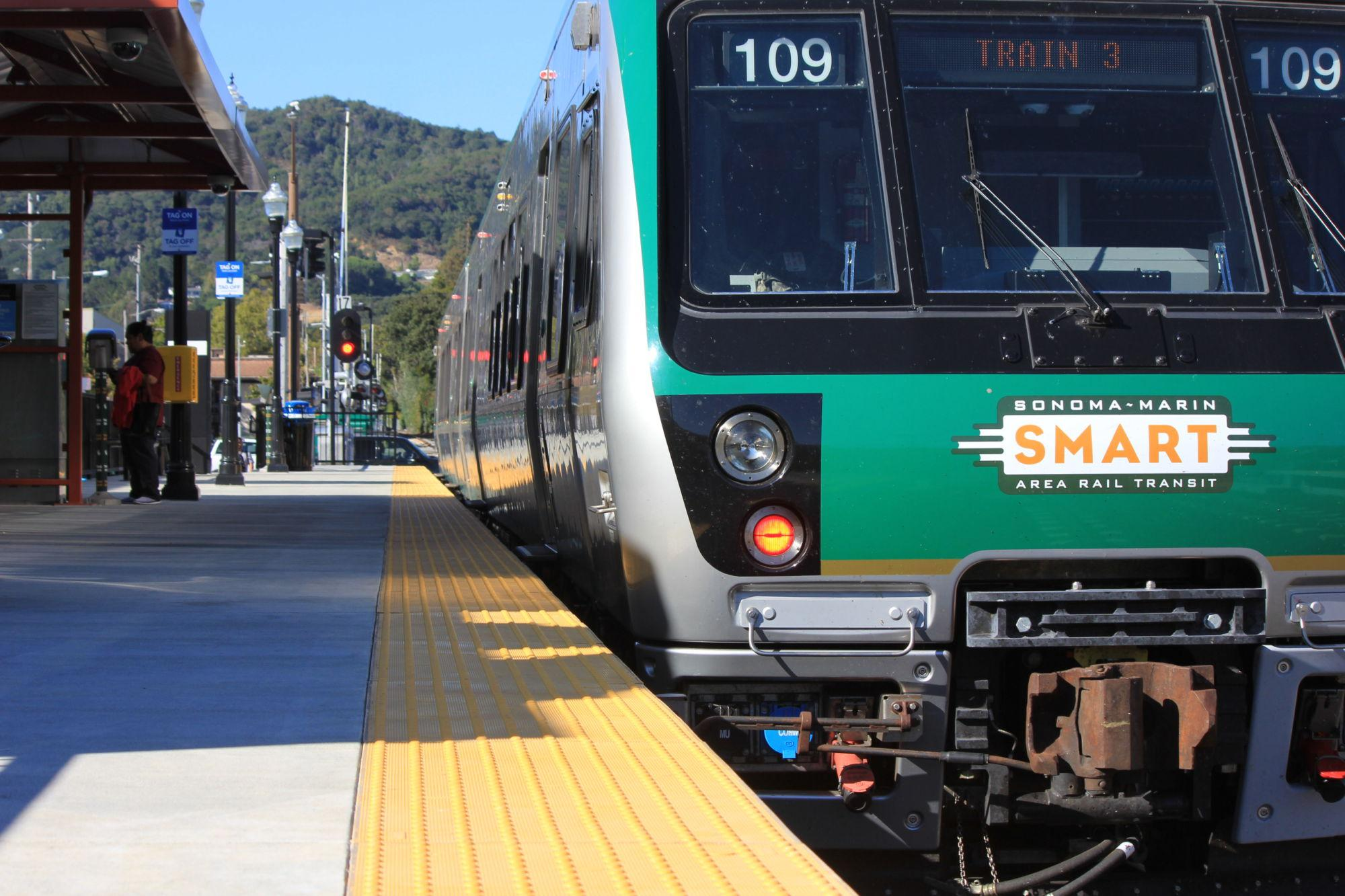 SMART opens train station in downtown San Rafael