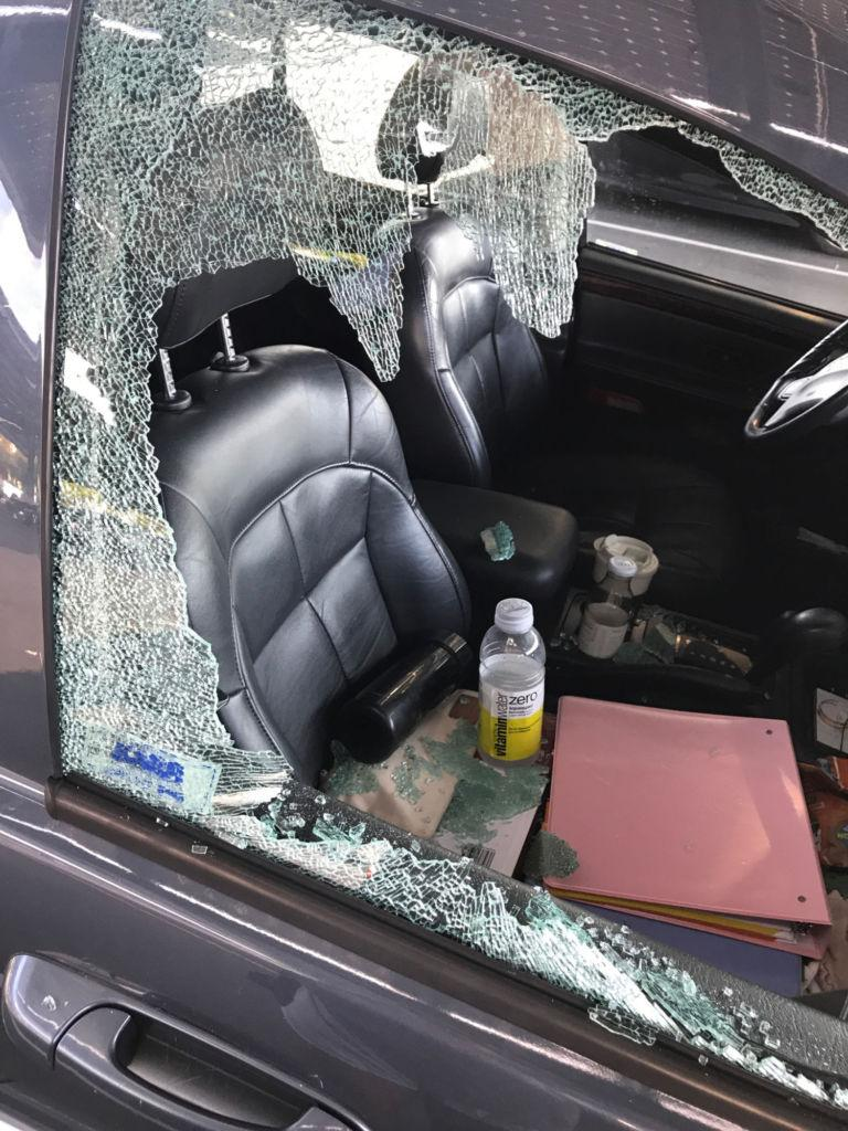 Car break-ins spur shock among student body