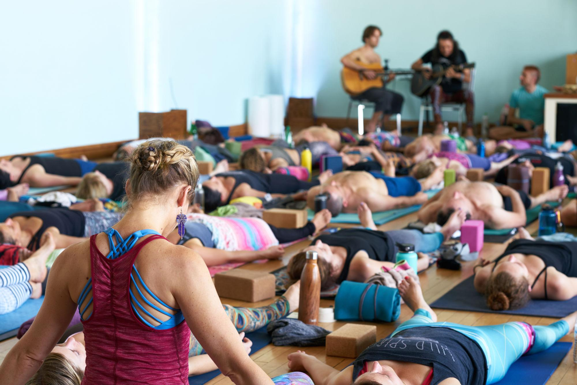 Yoga poses calming way to connect with mind and body