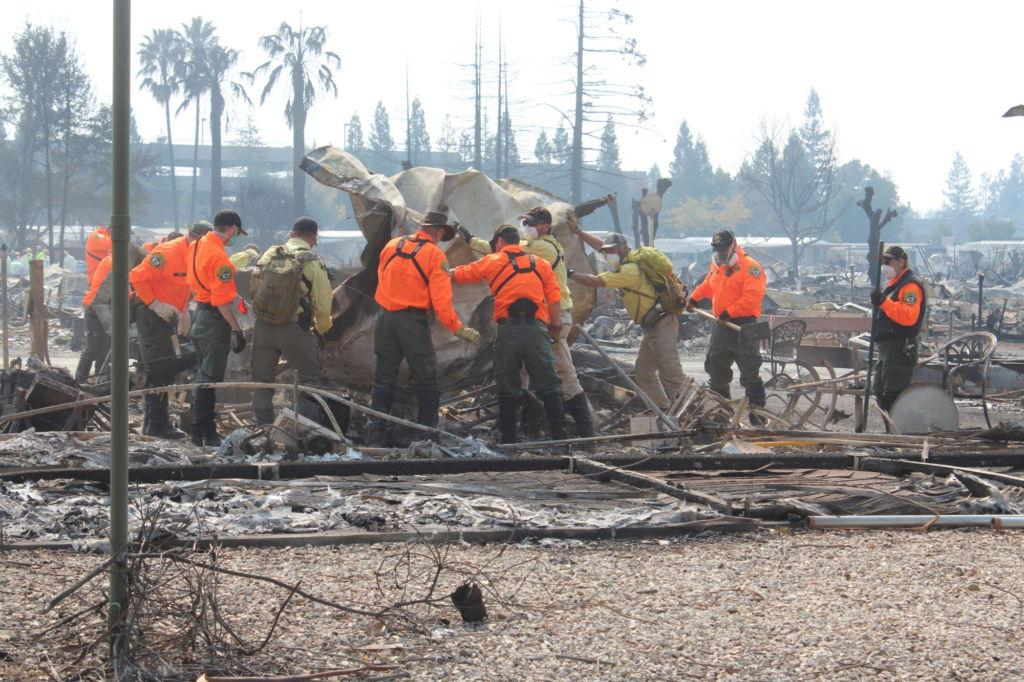 NorCal Fires: Efforts from Marin County
