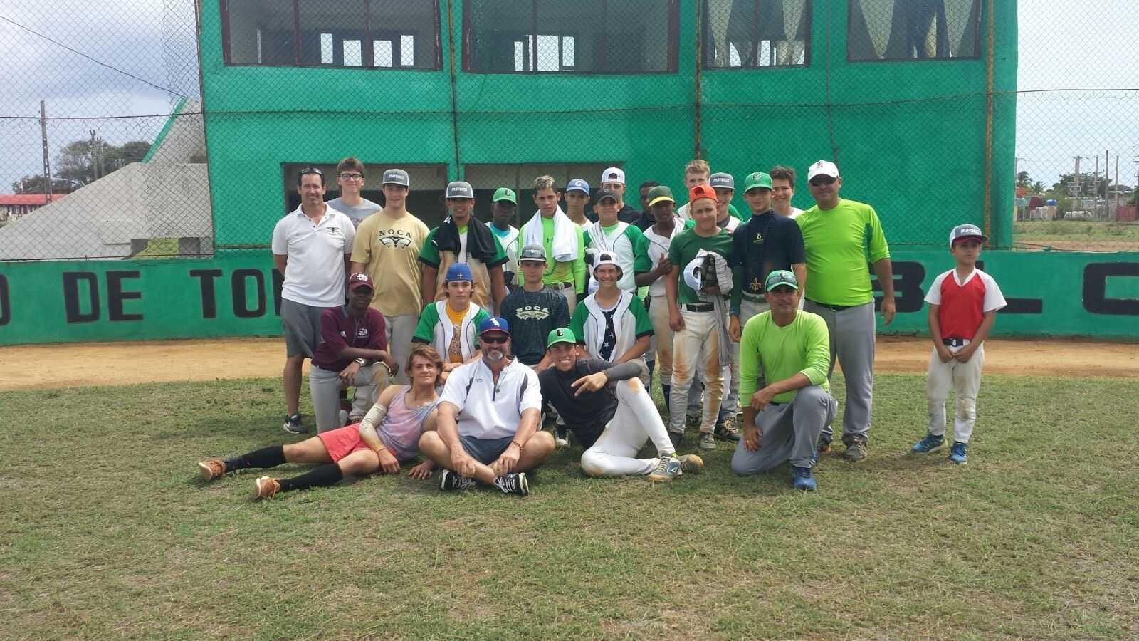 Baseball players venture to Cuba to give back to community