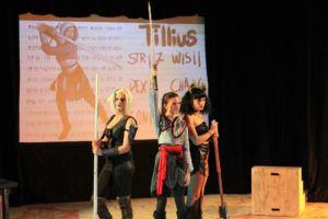Senior Lily Moser plays lead role as Lilith in She Kills Monsters