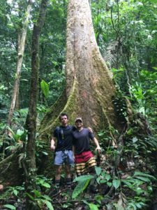 Spanish teacher Todd Van Peursem (right) and 2017 Redwood graduate Auz Zadoff (left) in Panama last year, in a similar school abroad-trip organized by Van Peursem.